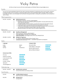 Medical Resume Resume Examples By Real People Medical Records Clerk Resume
