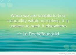 Tranquility Quotes Extraordinary Tranquility Quote With Wallpaper