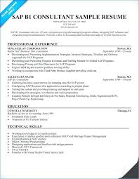 Sap Basis Sample Resume Awesome Sap Basis Administration Sample