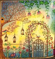 Secret Garden Pictures Coloring Book Secret Garden Coloring Book