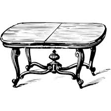 coffee table clipart black and white. cliparts coffee table #2701161 clipart black and white o