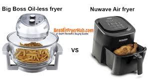 air fryer vs nuwave. Contemporary Air Big Boss Oilless Fryer VS Nuwave Air Throughout Fryer Vs A