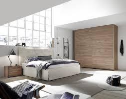 Schlafzimmer In Weiß Und Nussbaum Hell Nb Alpaca Luana