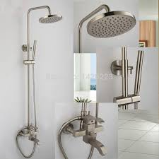 brushed nickel shower system. Good Quality Brushed Nickel 8\ Shower System