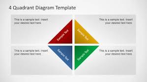 4 Quadrants Diagram Template For Powerpoint