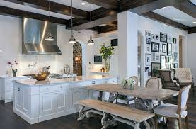 rustic kitchen picnic table kitchen ideas modern castle style home design interior exterior pictures on picnic