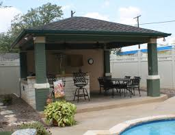 Ideas Outdoor Kitchen In Contemporary Covered Patio Also Small Swimming  Pool Design Trends Outdoor Covered Patio