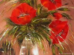 artist natalya zhdanova red poppies paintings canvas wall art poppies flowers painting oil canvas