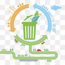 Green Border Recycling Waste Transparent Png Image Very Good