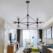 chandeliers ceiling globe branching bubble chandelier 110v 220v nordic modern chandelier lighting pendent lamp glass ball lamp canada 2019 from amarylly