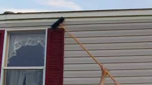 diy home maintenance cleaning vinyl siding mildew on a mobile home you