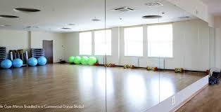 fitness center mirrors