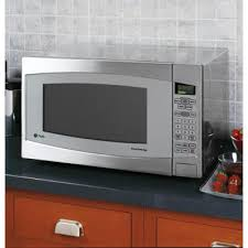 the ge profile series 2 2 microwave is designed in stainless steel and features a sensor reheating on this high end microwave is supposed to make
