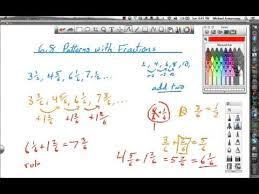 Patterns With Fractions Lesson 68