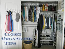 Simple Closet Organizing Ideas Roselawnlutheran - Organize bedroom closet
