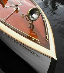 Antique Boat Navigation Lights Wood Boat Photo Nautical Art Nautical Decor Boat Art