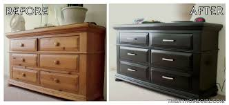 Painted Wood Bedroom Furniture Painted Bedroom Furniture Before And After