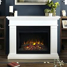 crawford slimline electric fireplace in white ef 28 grand
