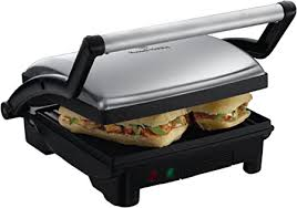 Russell Hobbs <b>3</b>-in-1 Panini <b>Press</b>, Grill and Griddle 17888 ...