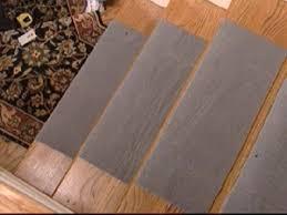 step 1 install carpet pad