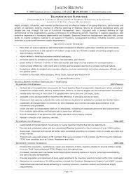 Sample Resume For Supervisor Position Sample Resume For Supervisor
