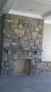 natural stone veneer fireplace connecticut fieldstone