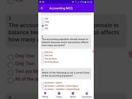 mcq on accounting equation part 1