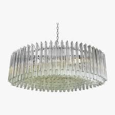 chrome drum chandelier ceiling lights bella figura the world s