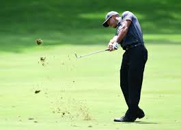 well shockingly he s back on top a leaderboard at the wyndham chionship