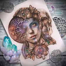 пин от пользователя дарья на доске Art в 2019 г эскизы татуировок