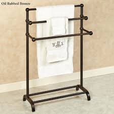 ... Standing Towel Rack Wood Free With Shelves Home Depot ...