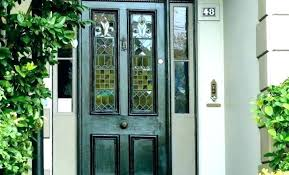 fancy door with glass panel replace glass panels in front door replace glass door replace glass