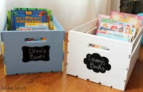 diy book storage crates reading confetti