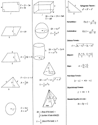 formula sheets for geometry geometric solids formulas reference sheet free download geometry