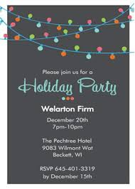 Company Christmas Party Invite Template Order Form Christmas Party Invitations Holiday Party Invitations