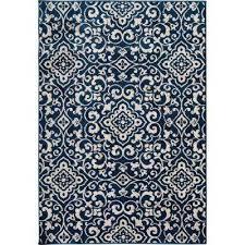 patio brights mcbee blue 7 ft x 10 ft indoor outdoor area rug