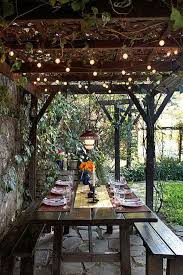 24 Jaw Dropping Beautiful Yard and Patio String Lighting Ideas For a
