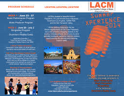 Looking For Great Summer Music Programs Los Angeles College Of