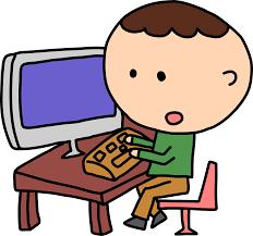 Computer Clip Art Computer Clipart Man With Aputer Clipartpost