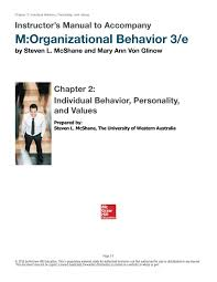 Introduction To Optimum Design 3rd Edition Solution Manual Solution Manual For M Organizational Behavior 3rd Edition By