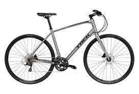 Hybrid Bike Trek Fx Sport 4 Silver 2019