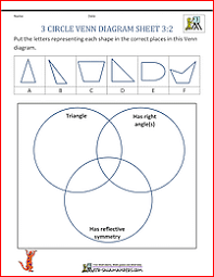 Sorting 2d Shapes Venn Diagram Ks1 Carroll Diagram Sorting Shapes Worksheet Free Wiring Diagram For You