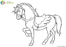 20 Beste Kleurplaat Paard Win Charles