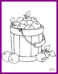 fall coloring sheet apple picking coloring pages wedding color page