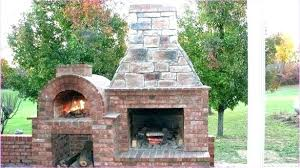 outdoor kitchen with pizza oven outdoor fireplace pizza oven contemporary for garden inside regarding 6