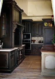 magnificent kitchen impressive diy painted black cabinets distressed