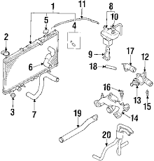 2001 dodge stratus radiator schematic dodge get image about 2004 dodge stratus cooling system diagram 2004