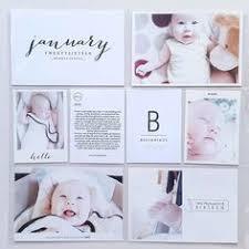 Baby Album Photoshop Template Baby Photo Album Newborn Photo Album