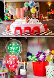Karas Party Ideas Circus Carnival Boy Girl 5th Birthday