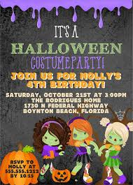 Halloween Birthday Party Invitations Walmart Printable Free